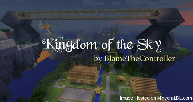 Kingdom of the Sky карта minecraft